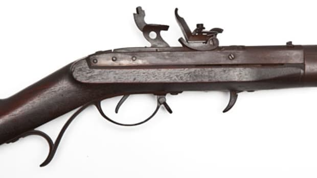 W.L. Evans Model 1816 US Flintlock Musket (Photo courtesy Cordier Auctions)