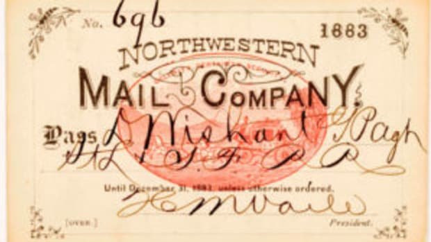 Mail company pass