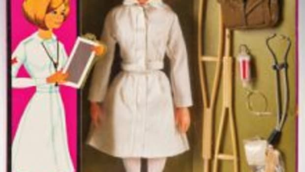 GI Nurse Action Figure