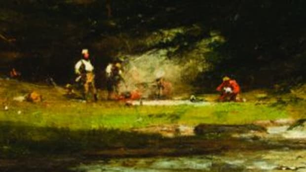 Whittredge oil painting