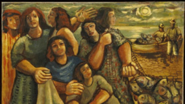 Cavalcanti oil painting