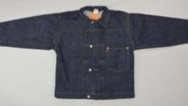 Rare 1940s Levis 506 denim jacket.