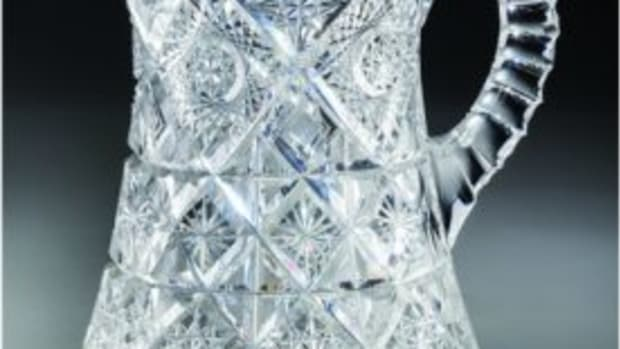 ABCG crystal pitcher
