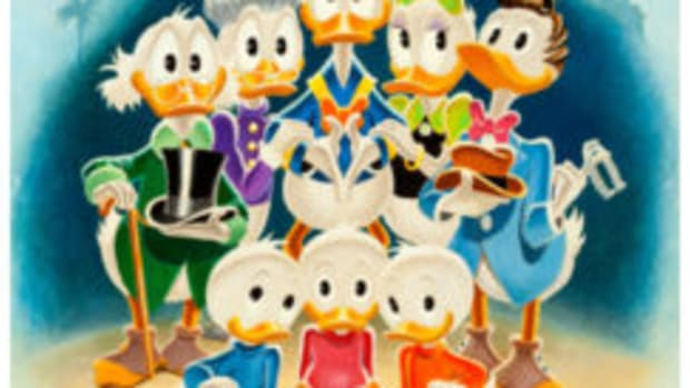 Disney Duck 'Family Portrait'