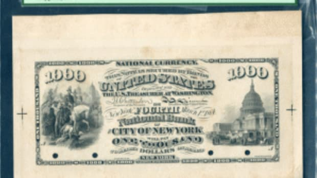 U.S. bank note