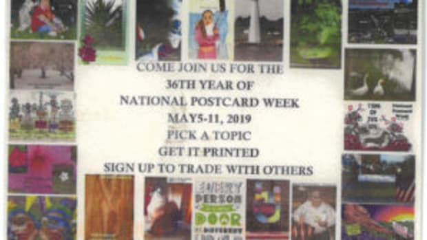 National Postcard Week Postcard