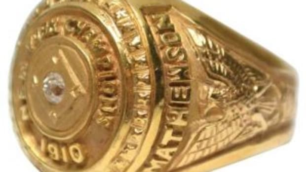Christy Mathewson's ring
