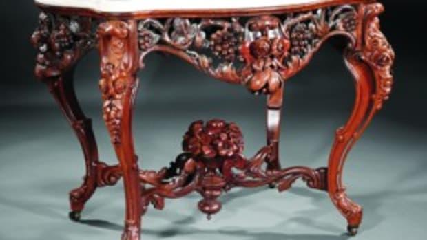 Rococo center table