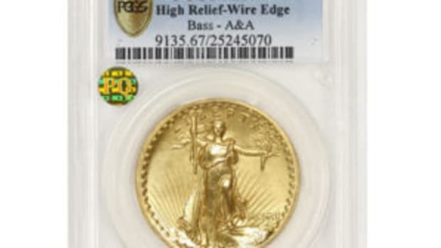 1907 Saint-Gaudens Double Eagles
