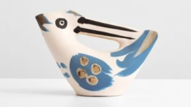 Picasso bird-form pitcher