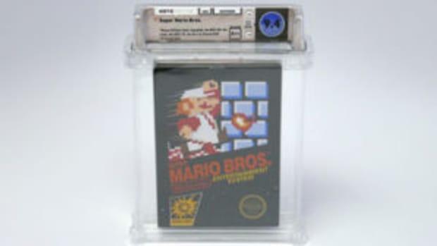 vintage video game cartridge