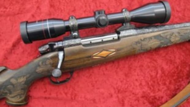 Weatherby Crown Crade rifle