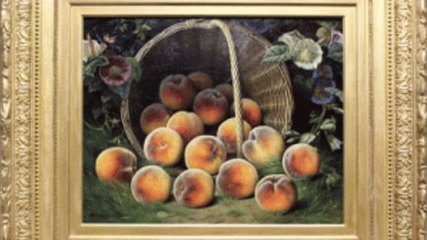 WIlliam Brown peaches