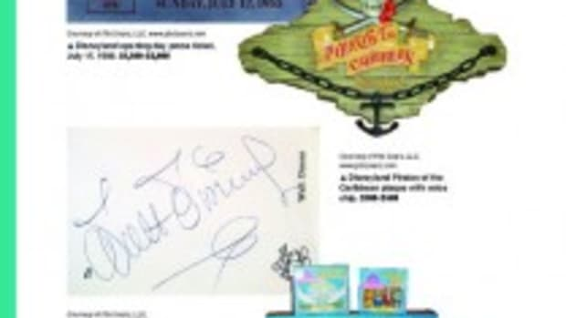 Disneyana sample page