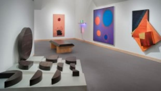 Interior abstract gallery