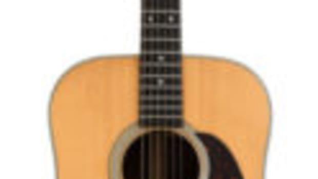 Dylan's Martin guitar