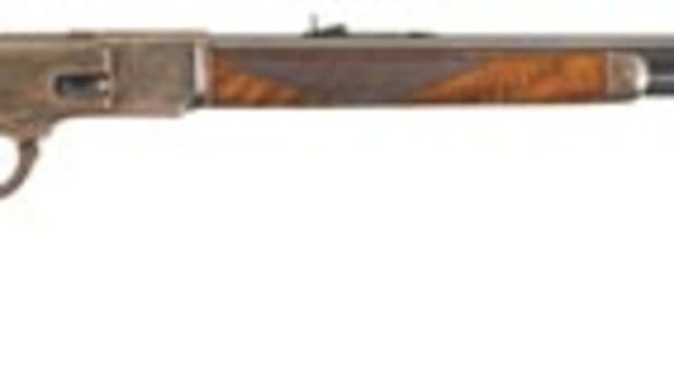 Winchester Deluxe Model 1873 firearm