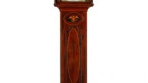 Jacob Eby tall-case clock