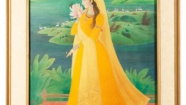 Chughtai painting