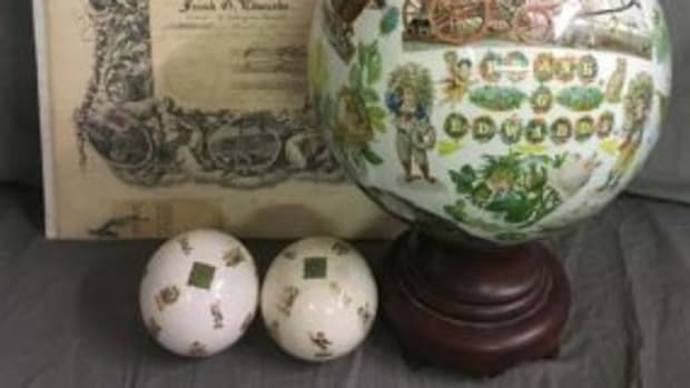 Committee of Vigilance certificate and Witching Balls
