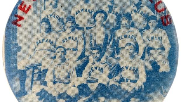 1896 Neward Baseball Club Pinback