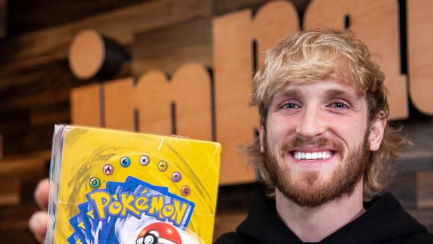 Popular YouTuber and Pokémon collector Logan Paul.