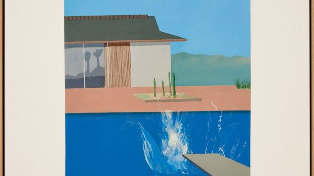 David Hockney's The Splash, $29.8 million.