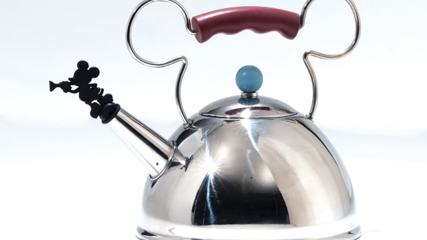 Mickey Mouse Teakettle, designed by Michael Graves, 1995.