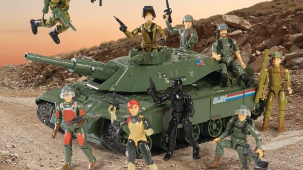 """The array and quality of G.I. Joe action figures introduced in 1982 was staggering. The 3 3/4"""" figures revitalized the stagnant G.I. Joe line. Gone were the days of a 12"""" generic action soldier representing all five branches of the U.S. Armed Forces. In his place now stood an extensive group of specialists: The G.I. Joe team."""