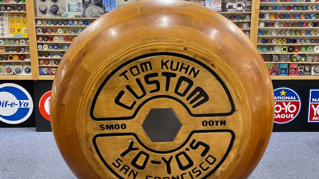 The world's largest yo-yo is a popular museum attraction.