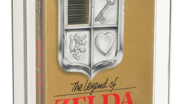 A true holy grail among video games: The Legend of Zelda - Wata 9.0 A Sealed [No Rev-A, Round SOQ, Early Production], NES Nintendo 1987 USA. Of all of the games Heritage says it has offered in its auctions, this sealed, early production copy of the first game in the groundbreaking Legend of Zelda series is no doubt the apotheosis of rarity, cultural significance, and collection centerpieces - a proverbial trifecta of collector perfection.
