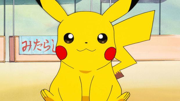 Pikachu color model publicity cel