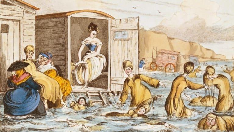 Victorian Bathing Machines