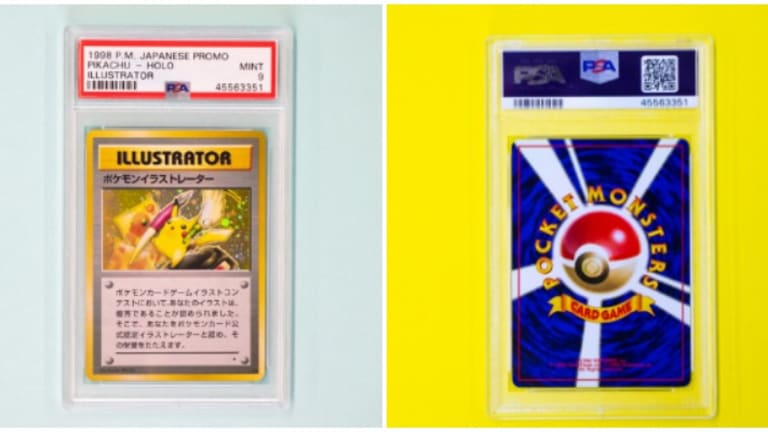 Rare Pokémon Card Sells For World Record