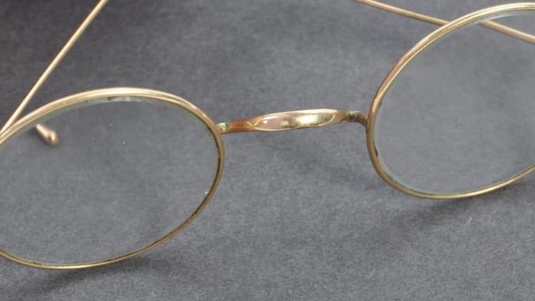 Gandhi's Glasses Shatter Expectations
