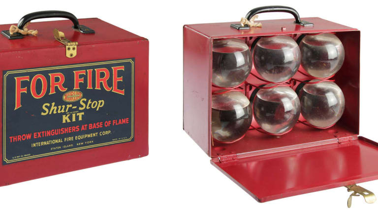 Fire Grenades: History and collectability