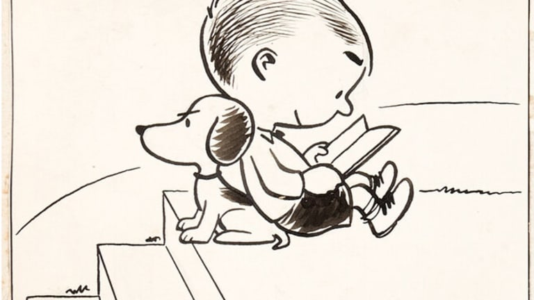 Early Snoopy Fetches $192,000