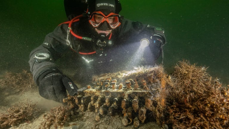 Divers Discover Rare Piece of History
