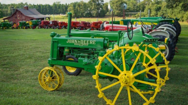 Collector Donates Antique Tractors to YMCA
