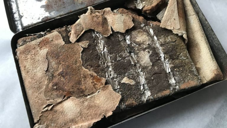 Chocolate Gifted by Queen Victoria in 1900 Found in Attic