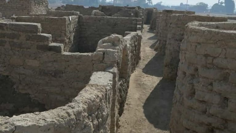 Archaeologists Find 3,000-Year-Old City in Egypt