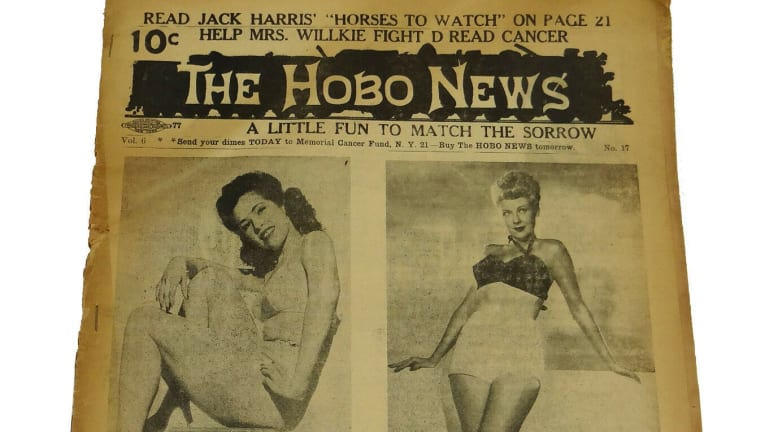 The Hobo News Was Newspaper Devoted to Hobo Culture