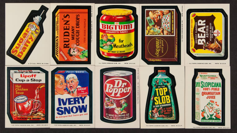 Vintage Wacky Packages Nostalgic Collectibles for Adults