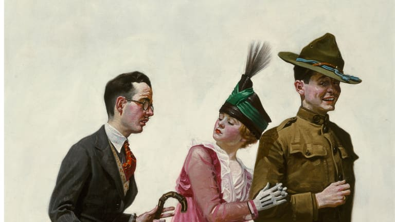 Norman Rockwell Leads Auction of Legendary American Artists