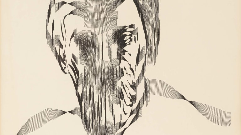 Art + Math = Charles Csuri