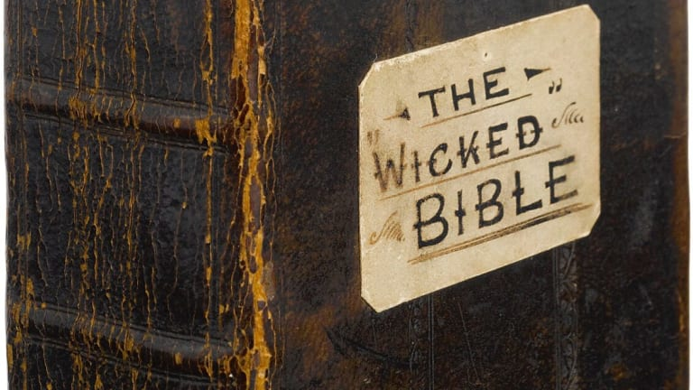 A Misprint in a Bible From 1631 Endorses Hanky-Panky