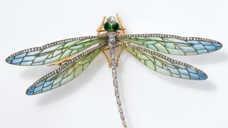 Dragonflies Enchanted Art Nouveau Jewelry Designers