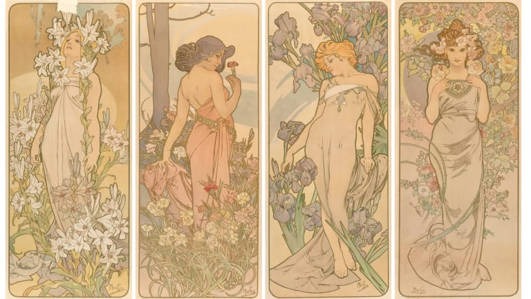 Alphonse Mucha: Celebrated Artist of the Art Nouveau Movement
