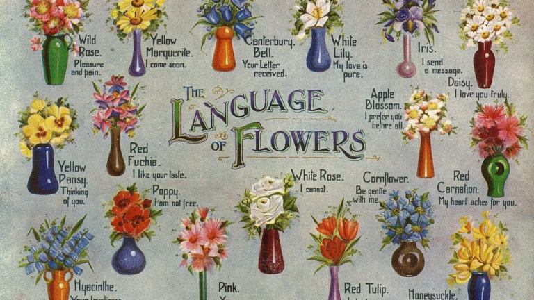 Victorians Used Flowers to Send Secret Messages