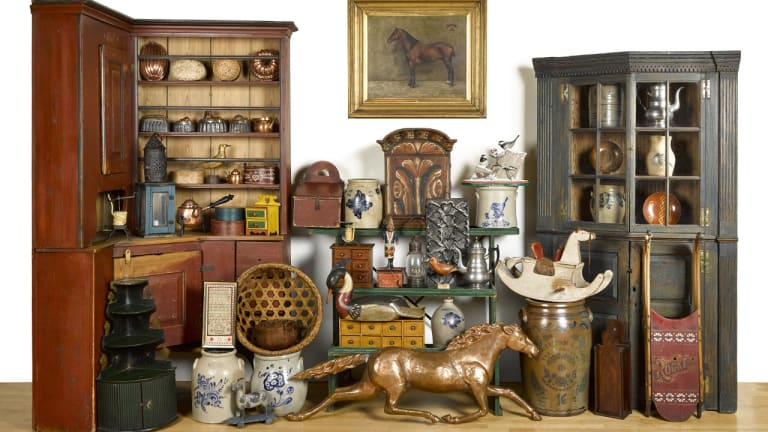 Auction Showcases Scandinavian Antiques